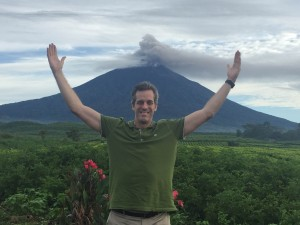 Ross Jaax and Kerinci eruption, April 2016